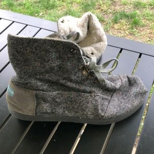 Toms boots/slippers